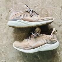 Adidas Rose Gold Alphabounce Athletic Sneakers Blush 6.5 Womens Photo