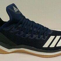 Adidas Size 9.5 Icon 4 Trainer Blue Athletic Baseball Sneakers New Mens Shoes Photo