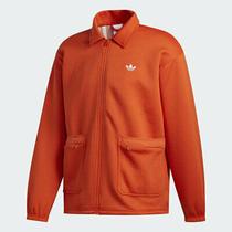 Adidas Skateboarding Full-Zip Orange Utility Coaches Jacket - Fm1369 - Size M Photo