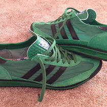 Adidas Sl 72 Green/black Size 11us 10.5uk Like New Photo