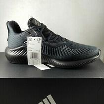 Adidas Sneakers Black Alphabounce Running Course a Pied Male Size Us7 Photo