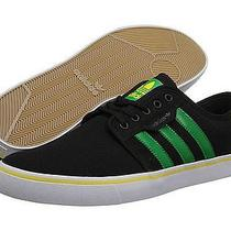 Adidas Sneakers - Skateboarding - Blk/grn/yellow - Sz 12 - Like New Photo