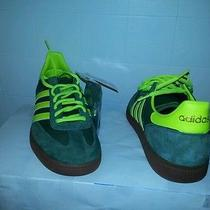 Adidas Spezial Green Sandstorm/electricity/strewo Gum Sole - Suede Canvas Sz10 Photo