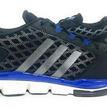 Adidas Spg 753001 Black Silver Blue Speed Training Sneaker Running Shoes Mens 13 Photo