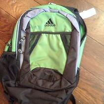 Adidas Sport Backpack Green Black Photo