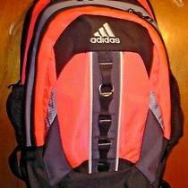 Adidas Sport Backpack to School Bag Multi Pocket Compartment Athletic Gear Pink Photo