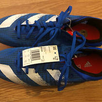 Adidas Sprintstar Running Shoe Sprinting Track & Field Spikes Glow Blue Size 12 Photo