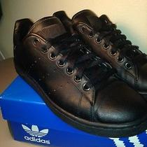 Adidas Stan Smith 2 Black Sneakers Size 9 Photo