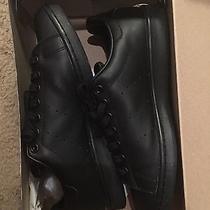 Adidas Stan Smith Black. Size 9.5 Photo