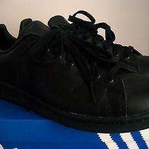 Adidas Stan Smith Black Sz 10.5 Raf Y3 Flux Yeezy Barbour Jeremy Boost Eqt Sole Photo