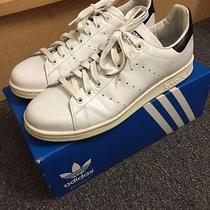 Adidas Stan Smith Black/white Rare Colorway Size 10 Photo