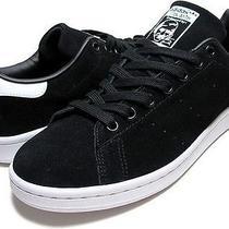 Adidas Stan Smith Blk/blk-Wht Mens-C75569 us12.5(30.5cm) Photo