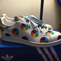 Adidas Stan Smith Rainbow Spinwheel Sz 10 Photo