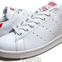 Adidas Stan Smith Wht/red Mens-M20326 us10.5(28.5cm) Photo