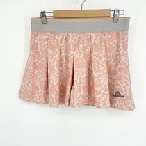 Adidas Stella Mccartney Barricade Skort Pink Lace Look Stretch Large Tennis  Photo