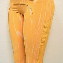 Adidas Stella Mccartney Clementine / Soft Powder Running 3/4 Tights Sz Xs M61155 Photo