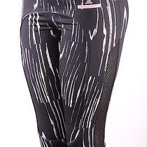 Adidas Stella Mccartney Running 3/4 Tights Black Frost  M Photo