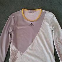 Adidas Stella Mccartney Shirt Green Gray Yellow Size 36 Photo