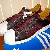 Adidas Superstar 80s -  Night Red / Cardinal -  Stan Smith Vntg Undftd  Photo