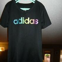 Adidas Top - Girl's Size Small (7-8) - Black Photo