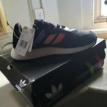 Adidas Tresc Run Originals Men's Black Sneakers Size 8.5 Style  Ef0768 Photo