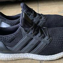 Adidas Ultra Boost 4.0 Core Black White Running Shoes Bb6149 Women Size 10 Photo