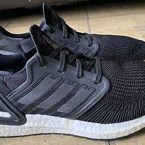 Adidas Ultraboost 20 Black White Running Shoes Ef1043 Men Size 7 Photo
