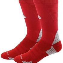 Adidas Unisex-Us Alphaskin Maximum Cushioned Crew Socks Red Size X-Large Mscp Photo
