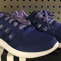 Adidas Us Sz 8 Element Refresh Blue Navy/purple Running Cross Training Shoes Nwt Photo