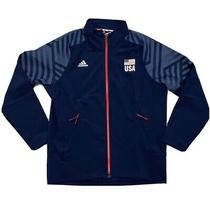 Adidas Usa Volleyball Limited Edition Warmup Jacket Men's Sz Lg Navy Dt7915 New Photo