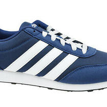 Adidas v Racer 2.0 B75795 Sneakers Navy Blue Mens Synthetictextile Photo