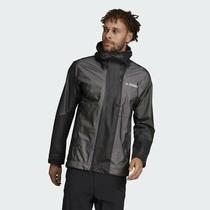 Adidas Waterproof Primeknit Rain Jacket Dz2055 Men's Black New Sz L Large 225 Photo
