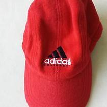 Adidas Winter Warm Fleece Earflap Cap Hat Red Size S/m Photo