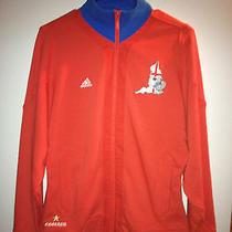 Adidas Women'a 2012 Euro England Track Top Size Medium Free Shipping can&usa Photo