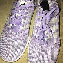 Adidas Women Running Element Refine Tricot Purple Sz 9 Nwot in Box Photo
