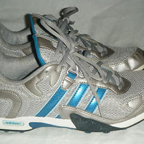Adidas Women Running Shoes Gray Aqua/tea. Size 8  Photo