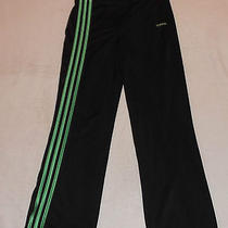 Adidas Women's Black Athletic Exercise Pants Sz Medium Guc Free Shipping Photo