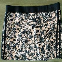 Adidas Women's Sport Golf Skirt Colorful Pink/black Print Size M Photo