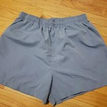 Adidas  Women's Training Sports Running Walking  Shorts Pockets Blue Size L Photo