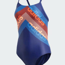 Adidas Women Sport Lineage Fitness Swimming Costume Swimsuit Dh2403/k3 Photo