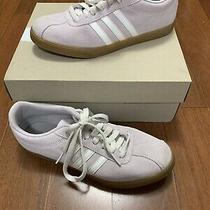 Adidas Womens Courtset Suede Sneaker - Blush Shd 675005 Size 8 Pink Ortholite Photo