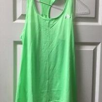 Adidas Womens Size S Bright Green Tank Top Racer Back Photo
