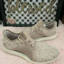 Adidas Womens Sneakers Size 10 Pureboost X Element Ash Pearl  Photo
