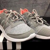 Adidas Womens Sz 9 Gray Element Refresh Athletic Shoes Supercloud Cushioning New Photo