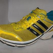 Adidas Womens Yellow Mesh Running Shoes Size 8.5m  Highnikeallstarnwt21 Photo