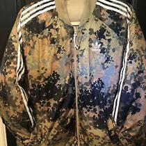 Adidas X Pharrel Williams Jacket Reversible - Camo / Tan Sz 2xl Photo