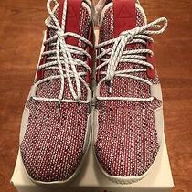 Adidas X Pharrell Williams Solar Tennis Hu V2 Primeknit Sneakers Red Bb9542 Us 9 Photo