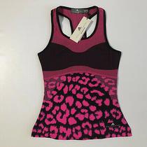 Adidas X Stella Mccartney Womens Court Tank Top Pink/black Dp0258 Sz Xs Nwt Photo