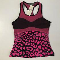 Adidas X Stella Mccartney Womens Court Tank Top Pink/black Dp0258 Sz M  Nwt Photo