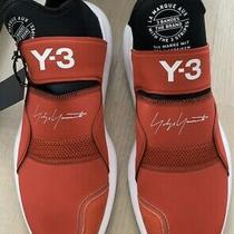 Adidas Y-3 Suberou Yohji Yamamoto Stretch Red Mens Size 11 Sock Sneakers Photo